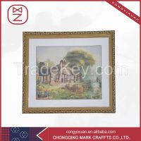 Elegant Generous High-grade Handmade Silk Embroidery Abstract Art Pain