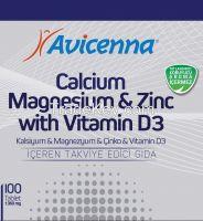 Calcium Magnesium Zinc Vitamin D3 Tablet Improve Bone Density Supplement