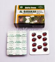 Health Food GMP Company for Malaysian Market Black Seed Oil Soft Capsule 500 mg x 150 Habbatus Sauda Nigella Seed Oil