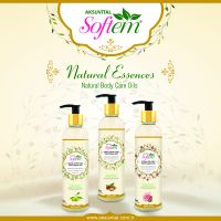 Natural Rose Oil Face and Body Lotion Herbal Cosmetics