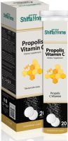 Vitamin C Effervescent Tablet with Propolis Vitamin Supplement