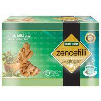 Ginger Tea Herbal Health Tea for Bronchitis, Respiratory Disorder, Cough Tea