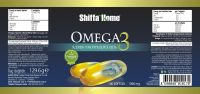 Injection Supplement Omega 3 DHA EPA Fish Oil Softgel Capsule