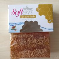 Skin Whitening Loofah Soap with Royal Jelly & Honey Cellulite Care Soap Bath Soap