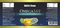 Omega 3 6 9 Fish Oil Softgel Capsule Fatty Acid Nutrition Supplement