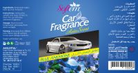 Air Freshener for Car / Auto Scent with Blue Anemone Flower / Spray Car Air Freshener
