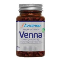 VENNA Softgel Coenzyme Q10 Anti Aging Softgel with Fish Oil Dietary Supplement