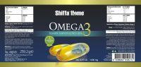 Omega 3 Fish Oil Softgel 500 mg Capsule Health Food Supplement