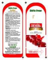 FERROVITEC Natural Herbal Iron Syrup Vitamin C Syrup Productive Cough Syrup