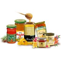 Pure Honey from Turkey in Glass Jars