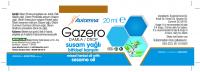 GAZERO Mixed Vegetable oil for Babies Sunflower Oil, Sweet Almond Oil Carminative Oil for Infants