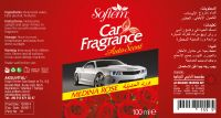 Air Freshener for Car / Auto Scent with Medina Rose Smell / Spray Car Air Freshener