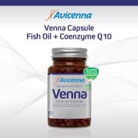 VENNA Softgel Coenzyme Q10 Anti Aging Softgel with Fish Oil Blister Pack
