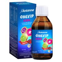 Honey Omega 3 Fish Oil Vitamin A Palmitate Syrup with  L-Arginine Mixed Fruit