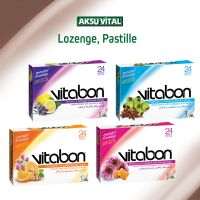 Cough Lozenge VITABON Herbal Drops with Echinacea & Propolis & Honey ...