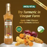 Natural Grape Vinegar in Glass Bottle