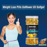 Safflower Seed Oil Softgel Capsules Weight Loss Pills Herbal Supplements
