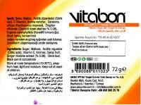 Sore Throat Lozenge VITABON Herbal Drops with Ginger and Orange Honey