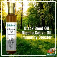Black Seed Oil 500 ml Glass Bottle Cold Pressed Pure Habbatus Sauda Oil
