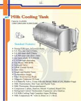 milk chiller capacity 100 liter to 20,000 liters