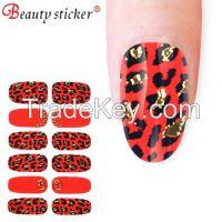 Fashion nail sticker, design nail sticker art, stencil nail art