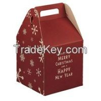 china cheap paper food packaging cake boxes printing services