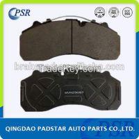 Padstar Auto Parts Heavy Duty Truck Bus Brake Pads E-MARK Certification Disc Brake Pad WVA 29087
