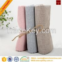 hot sale cotton linen fabric for dress from china