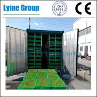 daily output 1000kg hydroponic fodder machine for animal cattle livestock horse