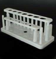 plastic test tube rack