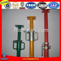 Tianjin high durability adjustable scaffolding steel shoring props used for construction