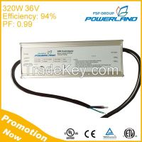 320W 36V constant voltage Switching Mode Power Supply