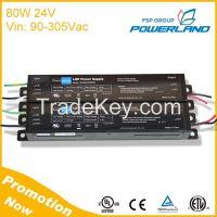 80W 24V Constant Voltage Led Driver