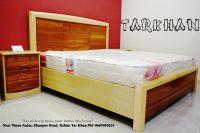 Rose Wood Full Solid Bedset