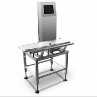 Automatic Conveyor Check Weigher With Partical Belt Flap Rejector for Snacks
