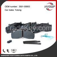 Disc brake pads, brake system, auto brake pad