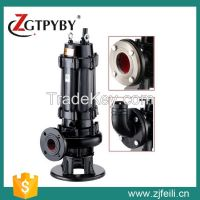 2015 top sale good quality non-clog sewage submersible water pump