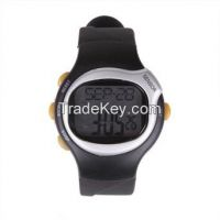 HDE Fitness Sport Pulse Watch with Heart Rate Monitor and Calorie Counter Weightloss Help in Pakistan
