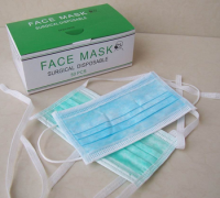 Disposable Face Mask Saloon Dust Clean Mouth Nose Protection Respirator