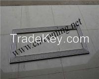 Long stainless steel floor drain