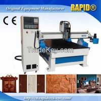 Jinan Atc Tool Change CNC Machining Center Wood Cutting Router