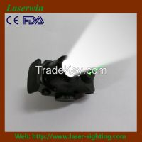 tactical mini green laser sight and light combo for pistols