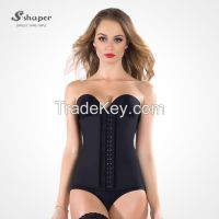 S-Shaper Top Body Shapers Steel Bones Women Waist Training Corsets Underbust Slimming Belt