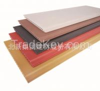 Non-asbestos fiber cement siding (K series with the different color within outer and inner side