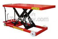 CE china supplier offers 1000kg cheap manual trolley hydraulic hand li