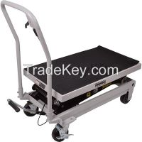CE china supplier offers 500 kg cheap electric scissor lift platform f