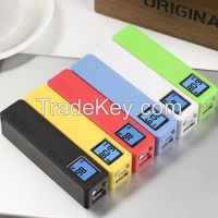 Power bank with LCD Display