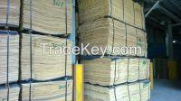 Cheap price of rotary cut Pine veneer for plywood / 1270x2540mm natural wood veneer