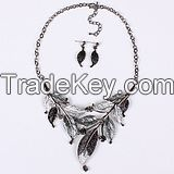 fashion women jewelry set classical statement necklace