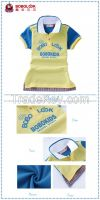 Stand collar cotton shirts 2 colors polo shirt for boys kid wear